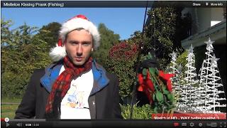 mistletoe prank