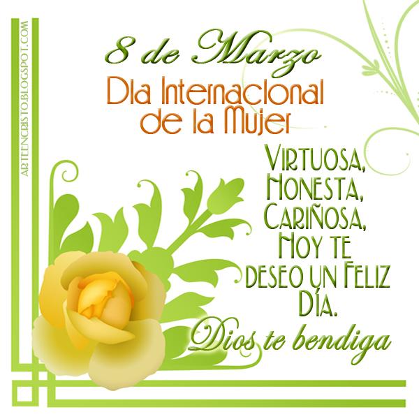 FELIZ DÍA DE LA MUJER!!!!! - Amigos Cristianos - Gabitos