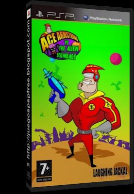 Ace Armstrong vs the Alien Scumbags! [Full] [1 link] [Espa�ol] [PSP] [FS]