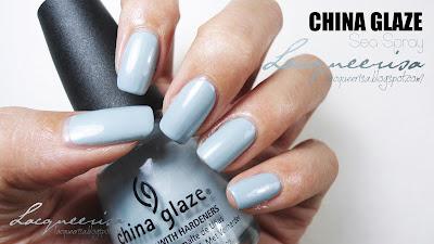 China Glaze Sea Spray Swatched
