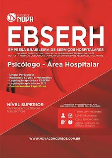 Apostila EBSERH GO 2015 - Psicólogo - Área Hospitalar.
