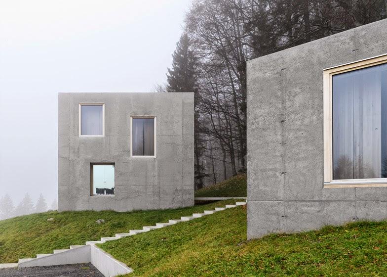 Cubic Haus simplicity love: haus rüscher, austria | olkrÜf