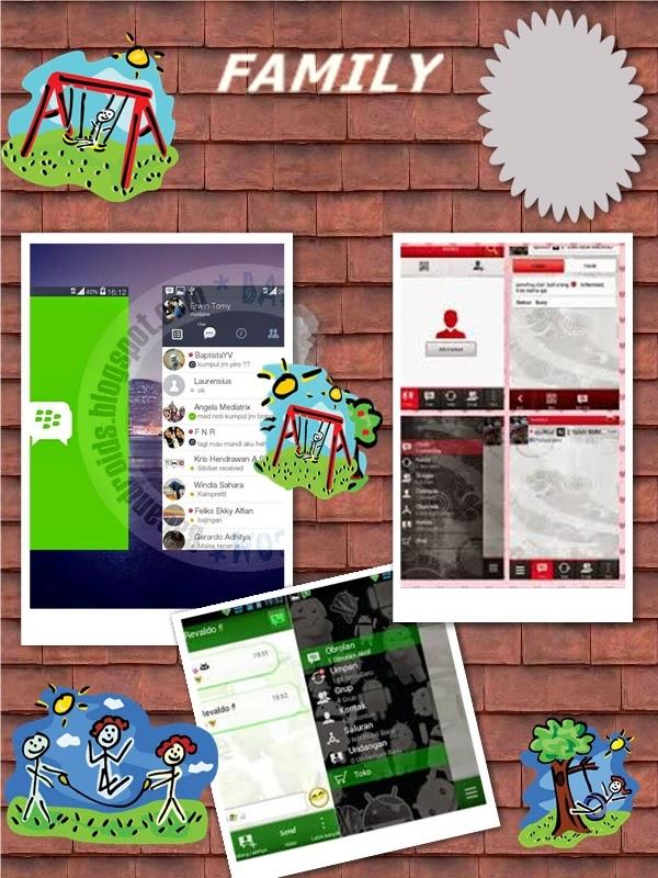 Free Download  3 BBM Mod Line,BBM  plus Merah ,free donlod BBM mod  ijo Android apk