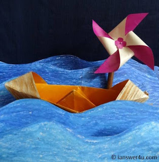 Simple Origami, what is origami,boat