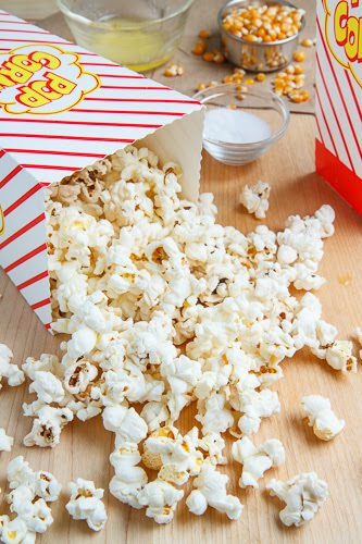 Homemade Microwave Popcorn