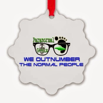 Get Your Paranormal Geeks Ornament!
