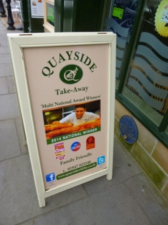 Quayside Fish & Chips in Whitby