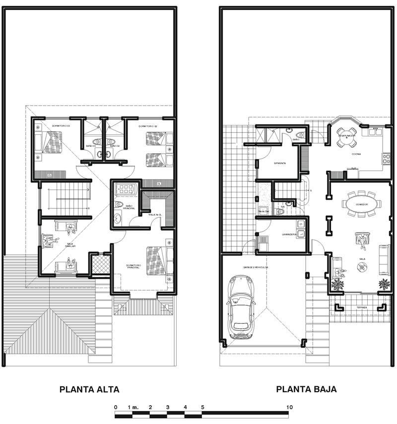 Planos de casas modelos y dise os de casas planos de for Planos y fachadas de casas pequenas de dos plantas