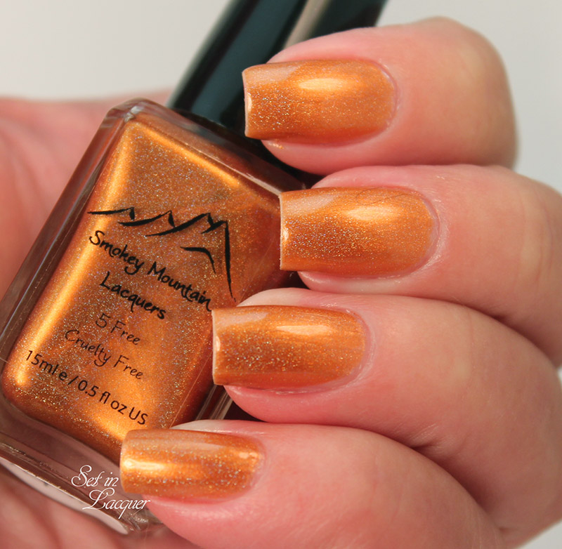 Smokey Mountain Lacquer - Kiss My Aspen - indirect lighting