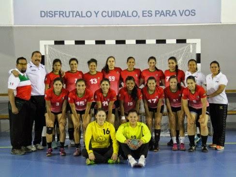 Selección Femenina de México en Sudamérica | Mundo Handball