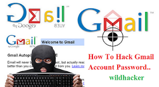 Hack gmail account password