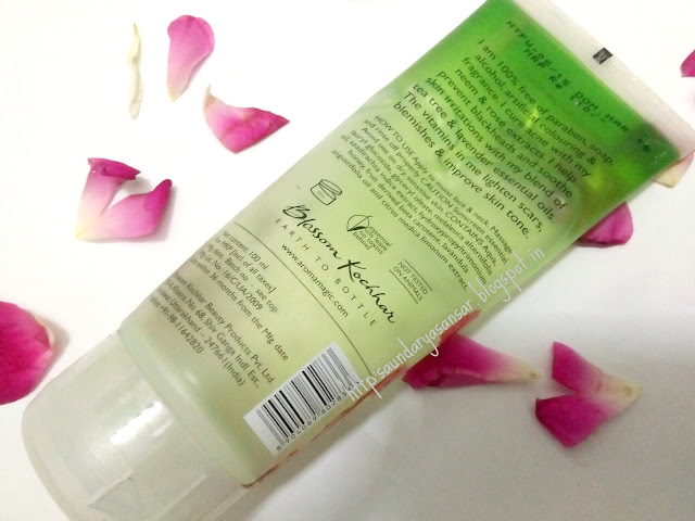 Aroma Magic Neem and Tea tree Face Wash- Acne Control & Oil Balancing