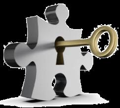 Gambar gembok dan kunci