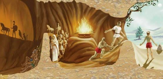 La caverna di Platone