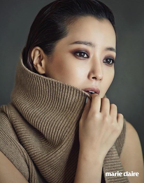 Kim Hee Sun - Marie Claire Magazine November Issue 2014