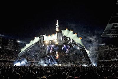 U2 360 - visão da pista