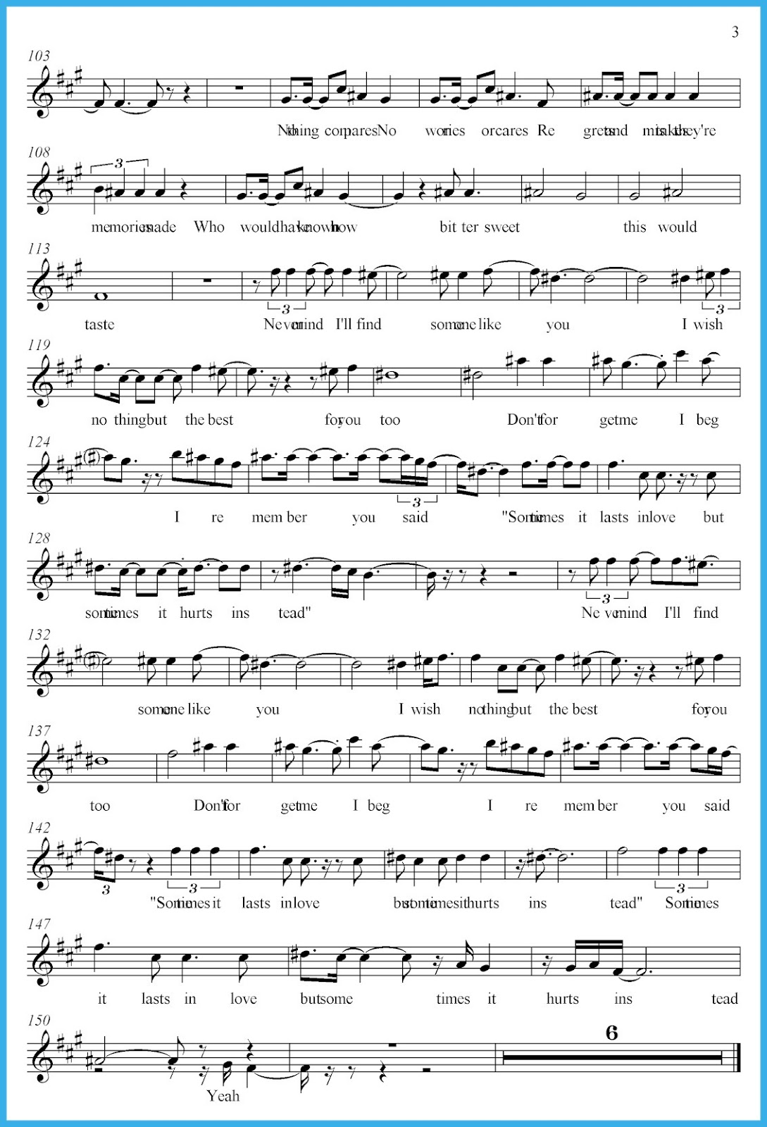 Flugelhorn and cornet in e eb clarinets free sheet music music scores