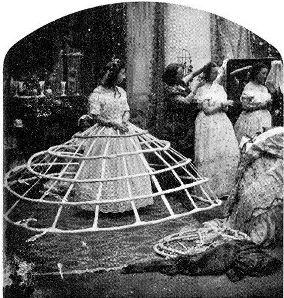 How to Get Dressed in 1860 ~ vintage everyday
