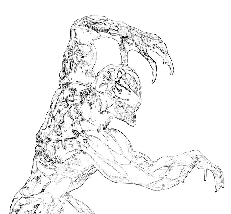 spiderman carnage coloring pages - photo#32