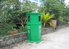 Thùng rác nhựa, thùng rác công cộng, thùng rác môi trường, thùng rác công viên
