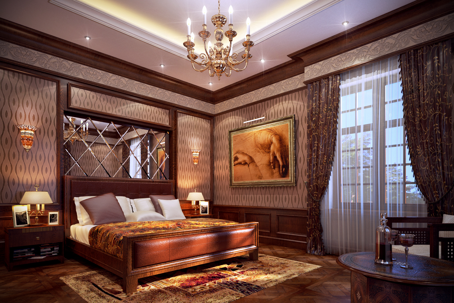 Romantic Master Bedroom Design Ideas 1500 x 1001