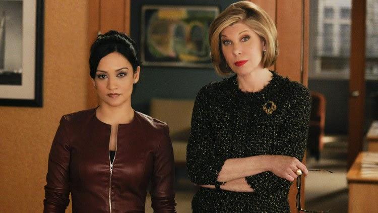 Kalinda y Diane son un tándem fuerte en la última temporada de la serie