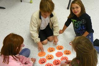 pumpkin matching rhythm game