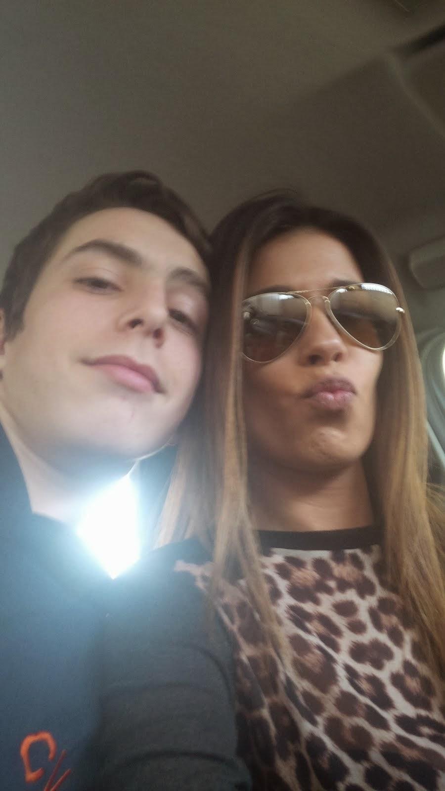 """Dário e Inês """"selfies"""""""