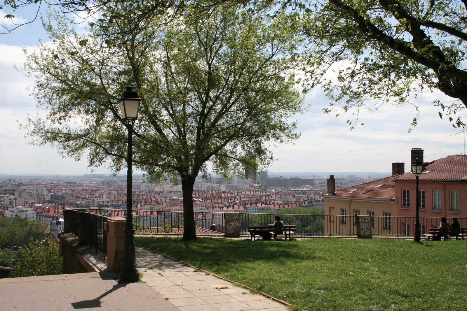 place Bellevue vue panoramique - visite guidée de Lyon - Nicolas Bruno Jacquet