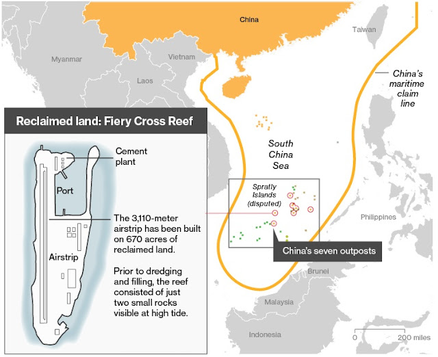 Japan considers sending navy to aid US in South China Sea