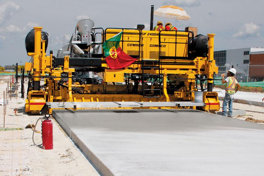 Concrete Paver Finisher : Engineer alat berat konstruksi teknik sipil
