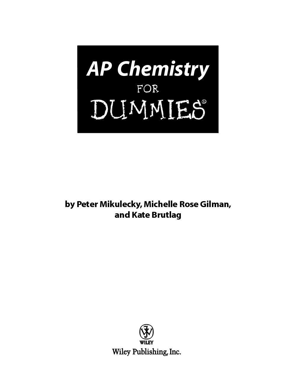 Ap Chemistry Essays