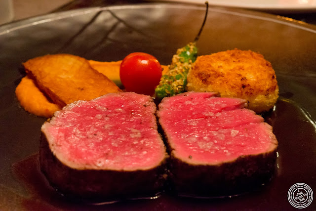 image of filet mignon at Fushimi in Bay Ridge, Brooklyn, New York