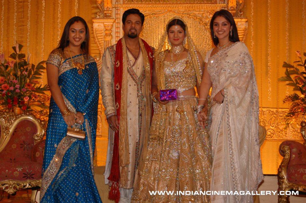Rambha Wedding Reception Photos Wedding Pictures