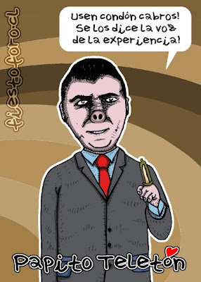 Caricatura de Don Francisco