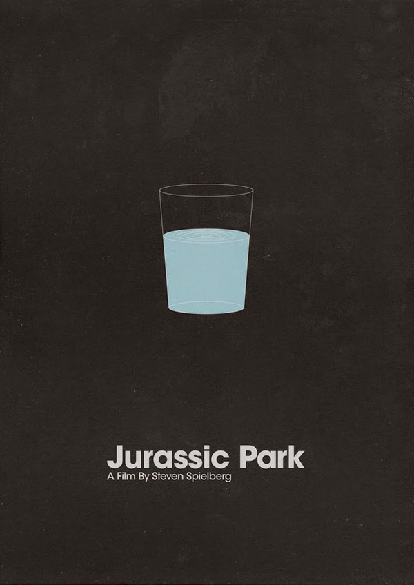 Minimalist Movie Posters Jurassic Park