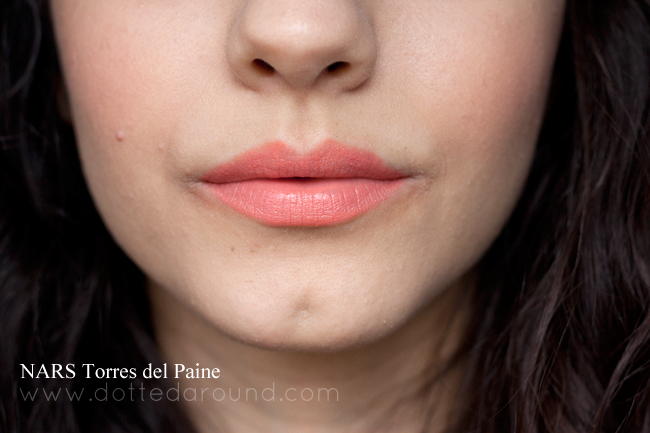 nars torres del paine satin lip pencil swatch