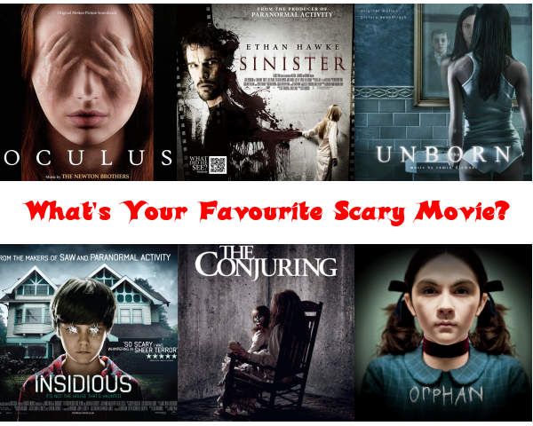 Top 6 Scary Movies
