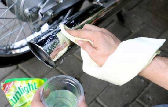 Tips dan Cara Membersihkan Knalpot Motor 4 TAK