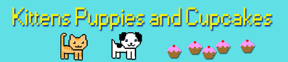 Kittens Puppies and Cupcakes