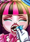 Монстрик Лечим зубы - Онлайн игра для девочек