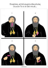 Să ne însemnăm corect cu semnul Sfintei Cruci
