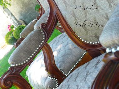 paire de fauteuil de style Louis Philippe