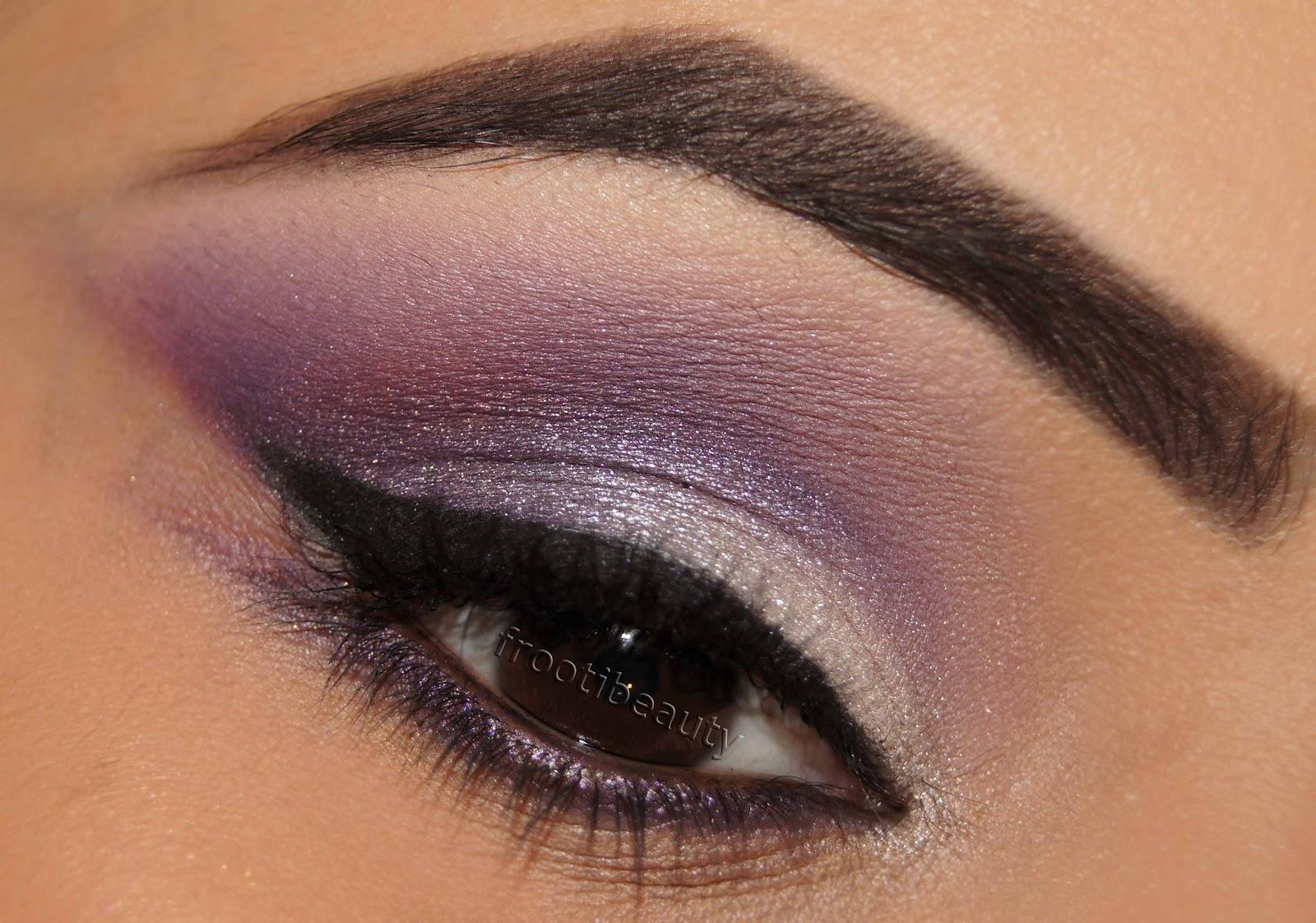 Dark Purple Bridal Makeup : Gallery For > Silver And Purple Eyeshadow Looks