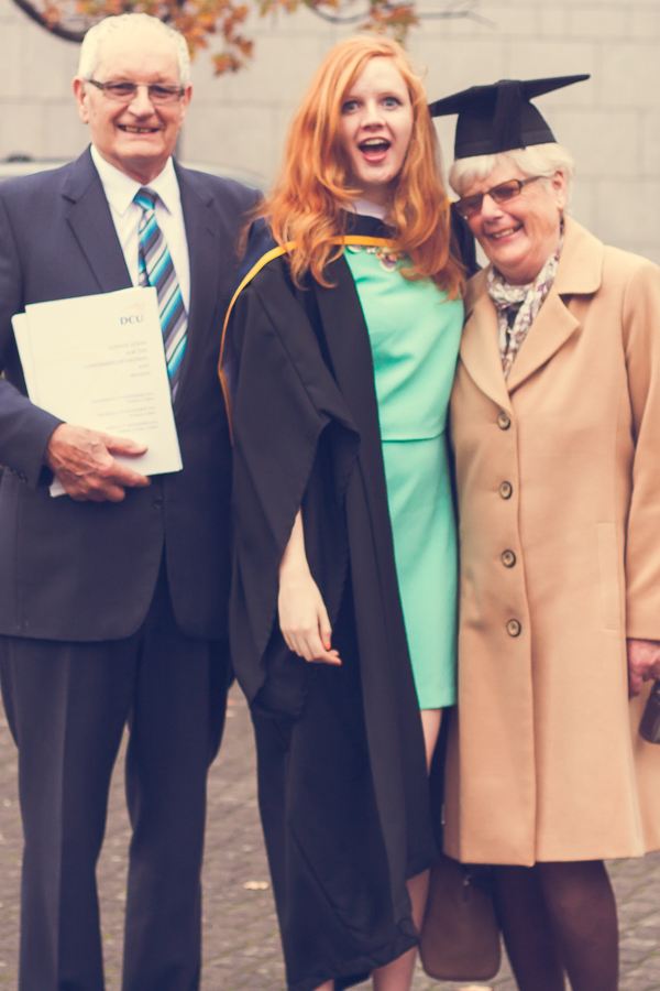 University Graduate with Grandparents