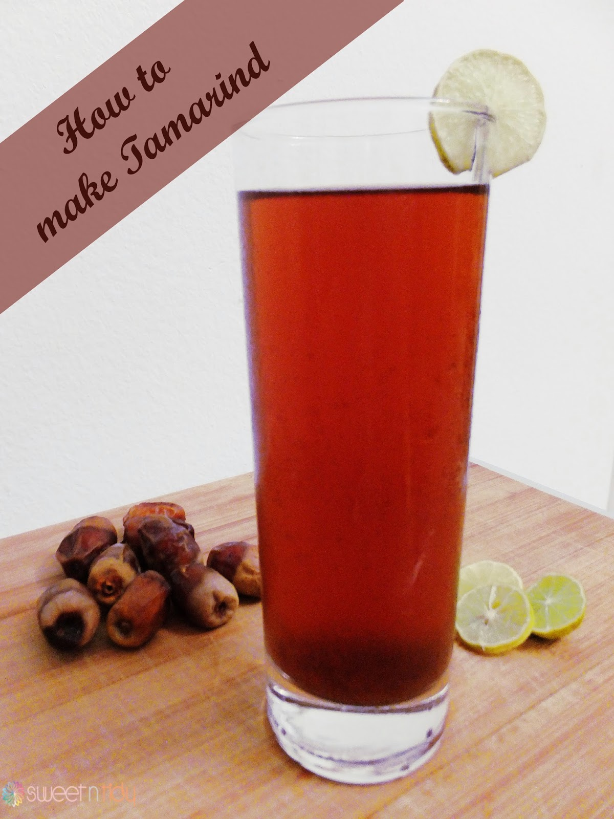How to make Tamarind juice