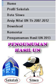 pengumuman hasil UN SMP Online 2013