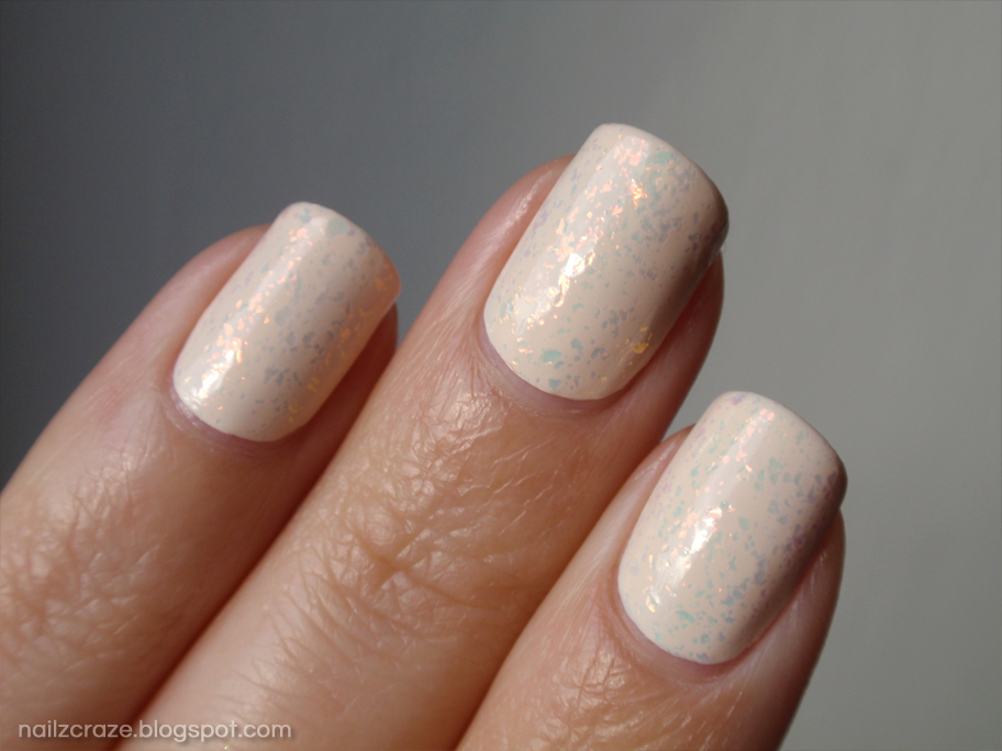 NOTD Golden Unicorn In Ivory Skies - Nailz Craze