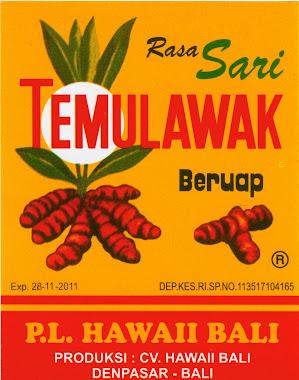 TEMULAWAK PL HAWAI BALI