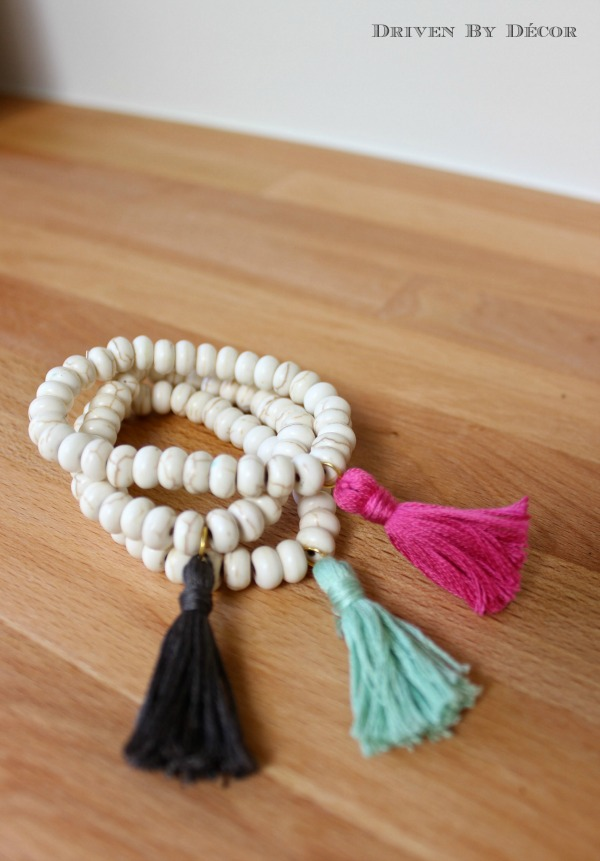 Beaded Tassel Bracelets - Driven by Decor